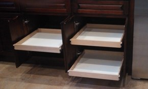 $499 for Three Custom, Slide-Out Shelves...