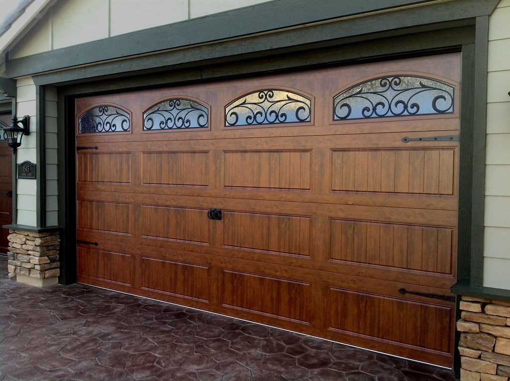 Clopay garage door reviews clopay gallery collection 8 ft for R value of old wood garage door
