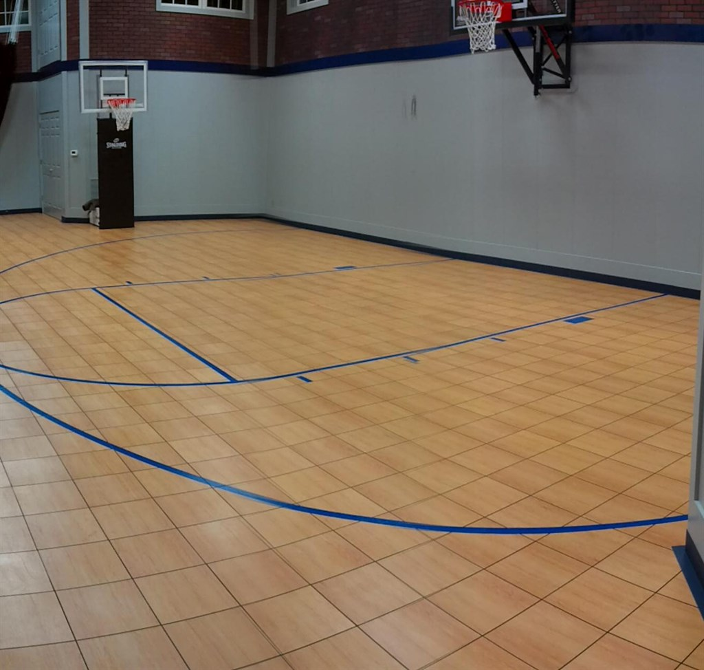 Rhino courts of indianapolis brownsburg in 46112 Basketball court installation cost