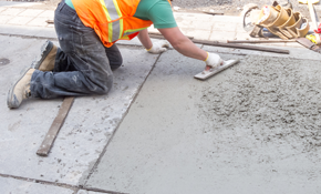$1,999 for Concrete Patio, Walkway, or Driveway...