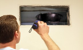 $395 for Air Duct Cleaning for a Townhouse