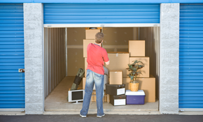 $40 for $80 Towards Storage Facilities