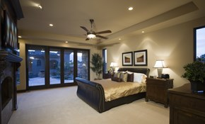 $1,065 for 4 New Recessed Lights with a Dimmer...