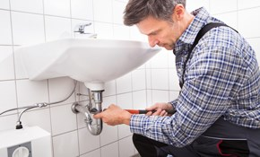 $100 Plumbing Service Call Plus One Hour...