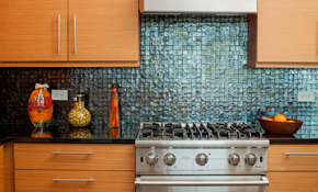$549 for a New Ceramic Tile Backsplash, Including...