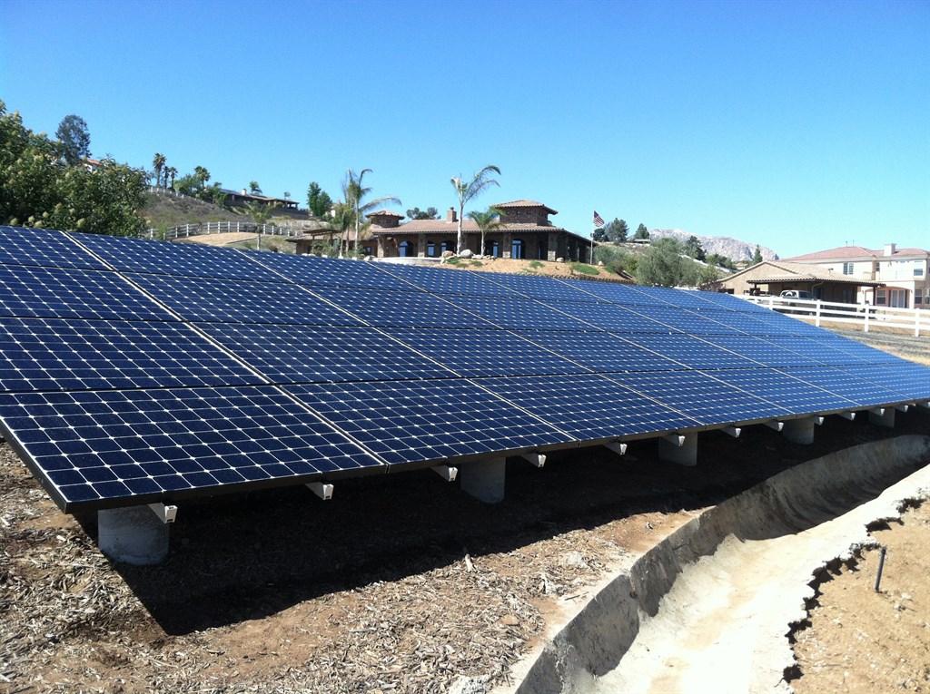 Residential Ground Mount Solar