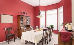 $525 for Three Rooms of Interior Painting