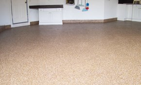 $765 for 1 Car Garage Epoxy Floor Finishing