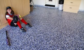 $1,440 for 2 Car Garage Epoxy Floor Finishing