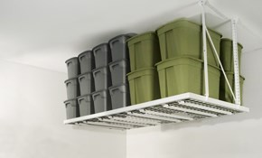 $382.50 for Overhead Garage Storage Unit