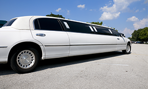 $195 for 3 Hours of Chauffeured Limousine...