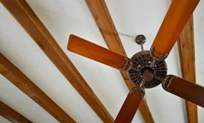 $205 for 3 Standard Ceiling Fans Installed--Labor...