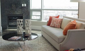 $125 for Upholstery Cleaning, Deodorizing,...