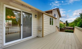 $1,399 for a Sliding-Glass Patio Door Installed...