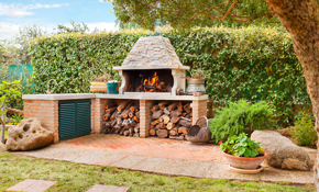 $200 for $1,000  Toward an Outdoor Fireplace