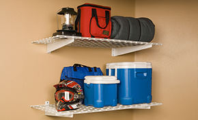 $395.99 for Industrial Grade Garage Shelving