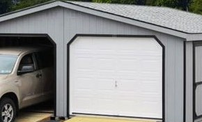 $6,900 for a 24' x 24' Double Wide Garage