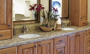 $195 for Cleaning and Sealing Granite Countertops