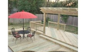$2,400 for 12'x20' Standard Deck Installation