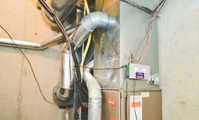 $3,329 for a New Gas Furnace Installed