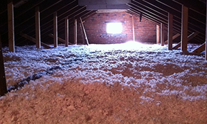 $149 for 500 Square Feet of Attic Insulation