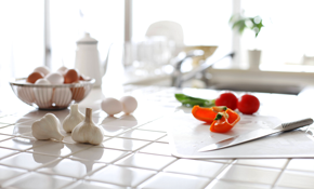 $121 for Ceramic Tile Kitchen Countertop...