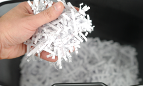 $25 for  $50 Paper Shredding