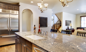 $1,750 for Custom Granite Countertops--Labor...