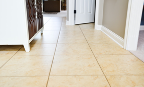 $495 for a New Ceramic Tile Bathroom Floor