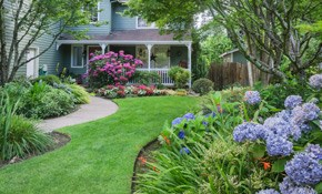 $353 for Eight Hours of Landscaping Service,...