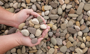 $80 for 1 Cubic Yard of Rock