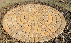 $1,188 for Circular Dominion Paver Patio...