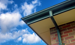 $375 for 50 Feet of 6-Inch seamless gutters