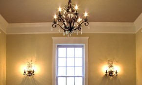 $559 Crown Molding Installation and Painting