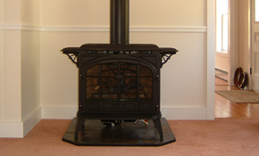 $200 for Pellet Stove Cleaning