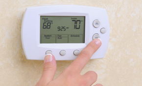 $217 for a Honeywell Pro6000 thermostat Installed
