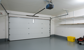 $180 for Garage Door Spring Replacement