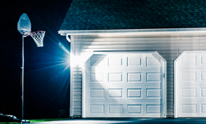 $700 for Two Motion-Sensing Security Light,...