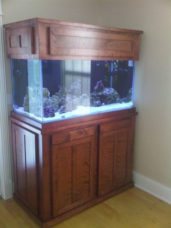 Fish aquarium surround