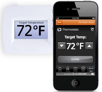 Adjust your thermostat from anywhere