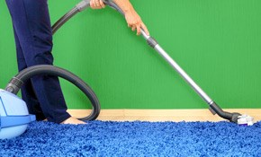 $75 Carpet Cleaning for Three Rooms and a...
