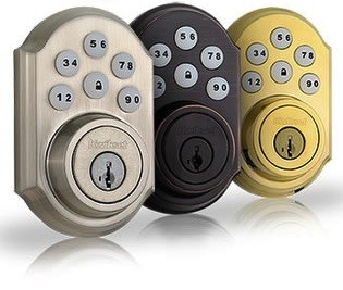Push button door locks