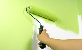 $495 for Three Rooms of Interior Painting