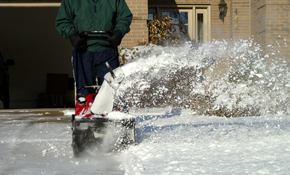 $40.50 for Snow Blower Evaluation