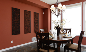$595 for 4 Rooms of Interior Painting
