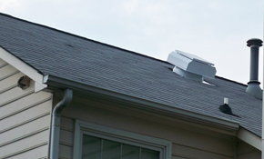 $650 Installation of a Solar Attic Fan