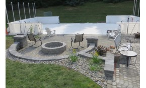 $99 For a Fire-Pit Install with Patio