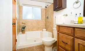 $110 for up to 80 Square Feet of Bathroom...