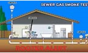 $225 Sewer Gas Detection Smoke Test