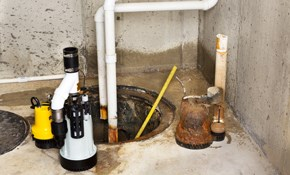 $350 for New Sump Pump Installed with Warranty